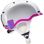 Salomon Grom White Glossy/Pink - Lyžařská helma