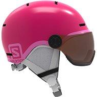 Salomon Grom Visor Glossy Pink - Lyžařská helma