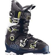 Salomon X Pro 120 Black/Petrol Blue/White - Pánské lyžařské boty