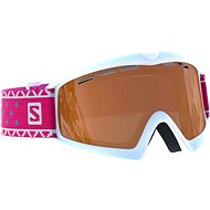 Salomon Kiwi Access Wh/Univ. T.Orange - Ski Goggles