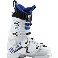 Salomon S/Max 130 White/Raceblue/Bk vel. 44 EU/ 280 mm - Lyžařské boty