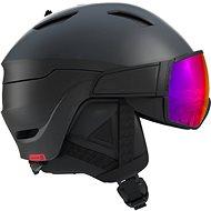 Salomon  Driver Black/Red Accent/Solar vel. L (59-62 cm) - Lyžařská helma