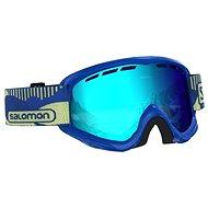 Salomon Juke Blue Pop/Univ. Mid Blue - Lyžařské brýle