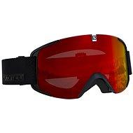 Salomon Xview Black/Univ.Mid Red - Lyžařské brýle