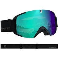 Salomon Xview Photo Bk/All Weather Blu - Lyžařské brýle