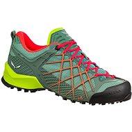 Salewa WS Wildfire zelená/růžová - Trekové boty
