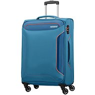 American Tourister Holiday Heat Spinner 67 Denim Blue - Suitcase with TSA-Approved Lock