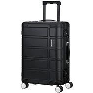 American Tourister ALUMO SPINNER 55 Black - Cestovní kufr s TSA zámkem