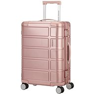 American Tourister ALUMO SPINNER 55 Rose - Cestovní kufr s TSA zámkem