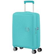 American Tourister Soundbox SPINNER 55/20 EXP TSA Poolside Blue - Cestovní kufr s TSA zámkem