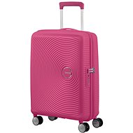 American Tourister Soundbox SPINNER 55/20 EXP TSA Magenta - Cestovní kufr s TSA zámkem