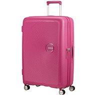 American Tourister Soundbox SPINNER 77/28 EXP TSA Magenta - Cestovní kufr s TSA zámkem