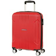 American Tourister TRACK LITE SPINNER 55 Flame Red - Cestovní kufr