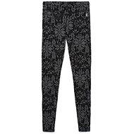 Smartwool W Merino 250 Baselayer Pattern Bottom, Black Digital Snowflake - Trousers