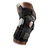 McDavid Hinged Knee Brace with Crossing Straps 429X, černá