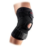 McDavid Knee Support w/ stays & cross straps, černá M - Ortéza