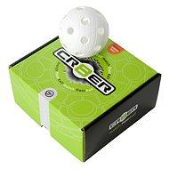 Unihoc míček Crater white 8-pack - Florbalový míček