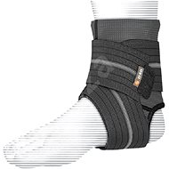 Shock Doctor Ankle Sleeve With Compression Wrap Support Black XL - Ortéza na kotník