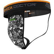 Shock DoctorAirCore Hard Cup Supporter, černý XXL - Suspenzor