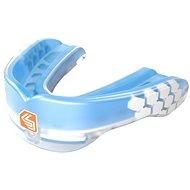 Shock Doctor Gel Max Power Trans Blue, dospělí, modrý - Chránič zubů