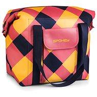 Spokey SAN REMO Termo taška, růžovo-modro-žlutá, 52 x 20 x 40 cm