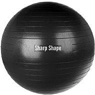 Sharp Shape Gym ball black 75 cm - Gymnastický míč