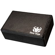 Sharp Shape Yoga block black - Jóga blok