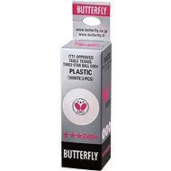 Butterfly Míčky 40+ G *** (3 ks) - Míčky na stolní tenis