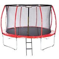 Stormred Pro, 427cm + Protective Net + Ladder - Trampoline