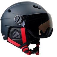Stormred Visor, černá, vel. 57-58 - Lyžařská helma