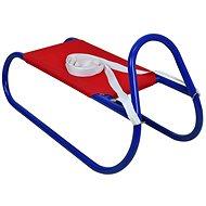 Sulov kovové 62 cm, červeno-modré - Sáňky