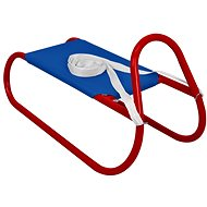 Sulov kovové 62 cm, modro-červené - Sáňky
