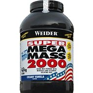 Weider Mega Mass 2000 vanilka 4,5kg - Gainer