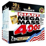 Weider Mega Mass 4000 jahoda 7kg - Gainer