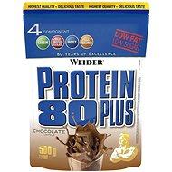 Weider Protein 80 Plus, 500g, čokoláda