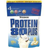 Weider Protein 80 Plus, 500g, kokos - Protein