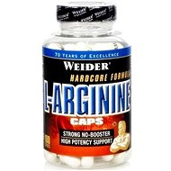 Weider L-Arginine Caps 100kapslí - Arginin