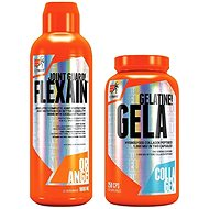 Extrifit Flexain 1000 ml orange + Extrifit Gela 1000 mg 250 cps - Sada