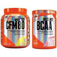 Extrifit CFM Instant Whey 80, 1000g, vanilla + Extrifit BCAA Instant 300 g grapefruit - Proteinová sada
