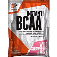 Extrifit BCAA Instant 6,5 g wild strawberry & mint - Aminokyseliny