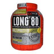 Extrifit Long 80 Multiprotein 2,27 kg vanilla - Protein