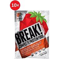 Extrifit Break! Protein Food 10 x 90 g strawberry - Smoothie