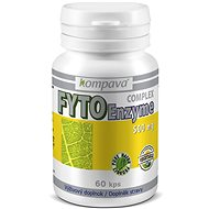 Kompava Fyto Enzyme Complex, 500mg, 60 capsules - Superfood