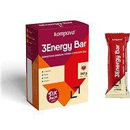 Kompava 3Energy Bar Sixpack, 6x40 g - Energetická tyčinka