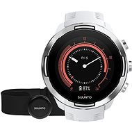 Suunto 9 G1 Baro White + HR Belt - Sporttester