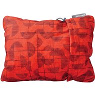 Therm-A-Rest Compressible Pillow Small Red Print - Polštář
