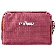 Tatonka BIG PLAIN WALLET bordeaux red - Peněženka