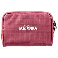 Tatonka PLAIN WALLET bordeaux red - Peněženka