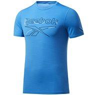 Reebok WORKOUT READY ACTIVCHILL TEE blue - Tričko