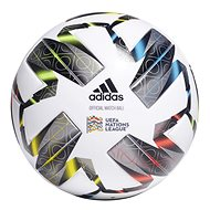 Adidas UEFA Nations League Pro bílo-černý, vel. 5 - Fotbalový míč